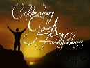 Celebrating God's Faithfulness (Dec 24-Jan 6 2013)